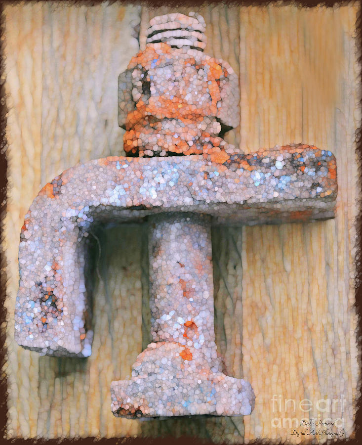 Rusty Metal Objects 7-5 Photograph by Debbie Portwood