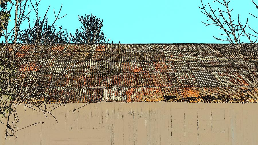 Rusty Roof Photograph