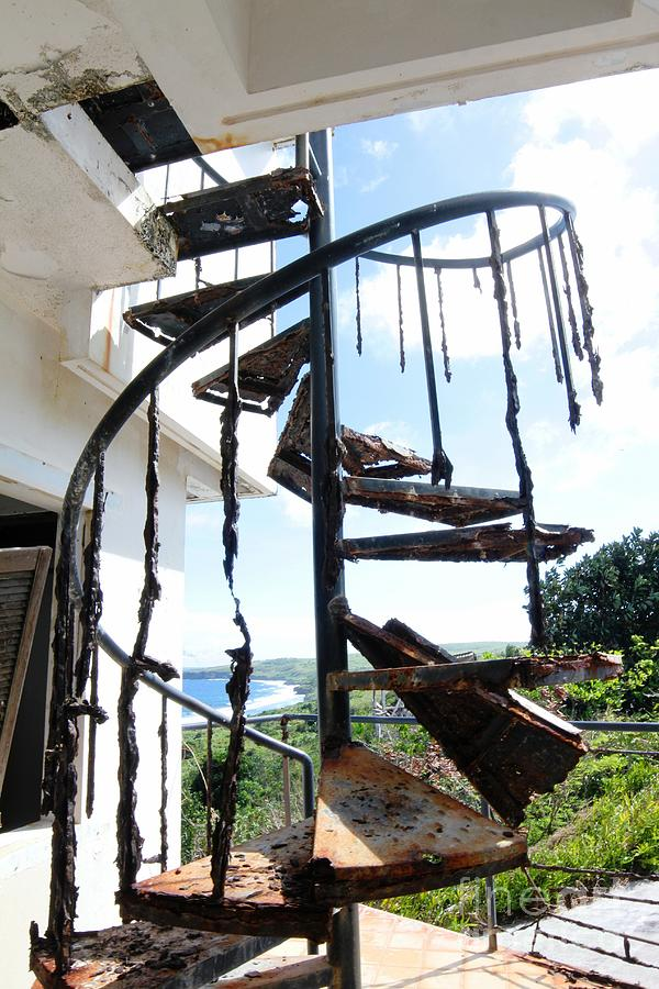 Rusty Spirals Photograph