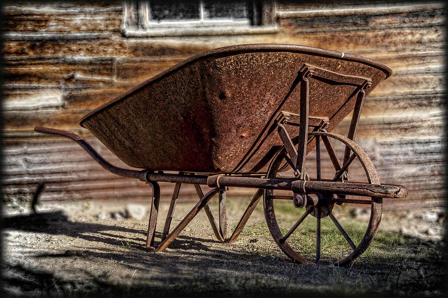 Rusty Wheelbarrow Photograph