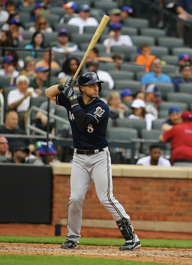 Ryan Braun Photograph by Al Bello