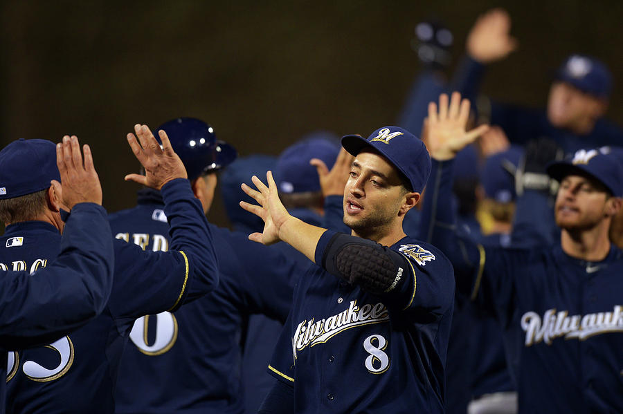 Ryan Braun Photograph by Drew Hallowell