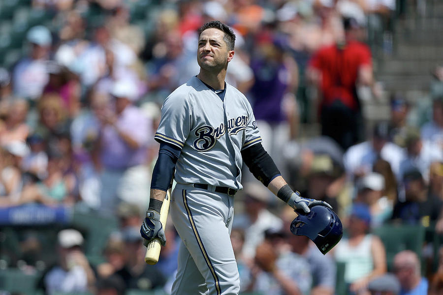 Ryan Braun Photograph by Justin Edmonds