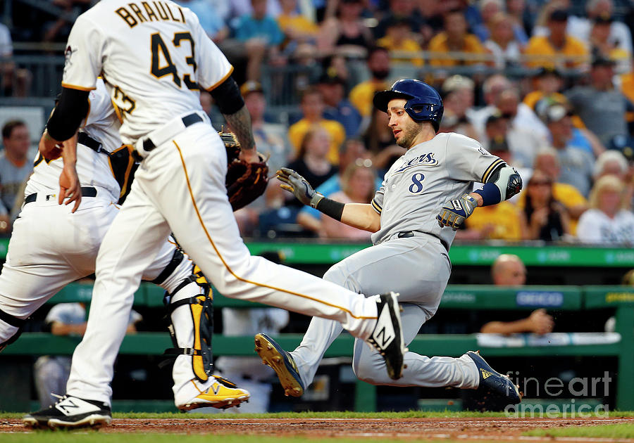 Ryan Braun Photograph by Justin K. Aller