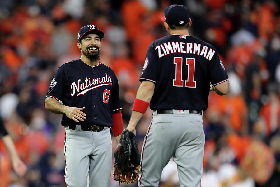 Ryan Zimmerman and Anthony Rendon Photograph by Elsa