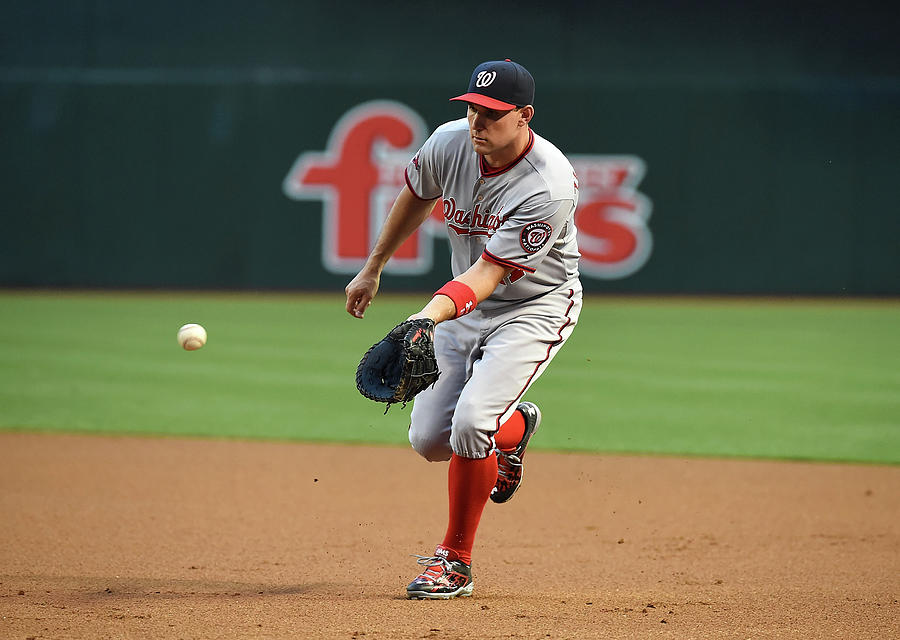 Ryan Zimmerman Photograph by Norm Hall