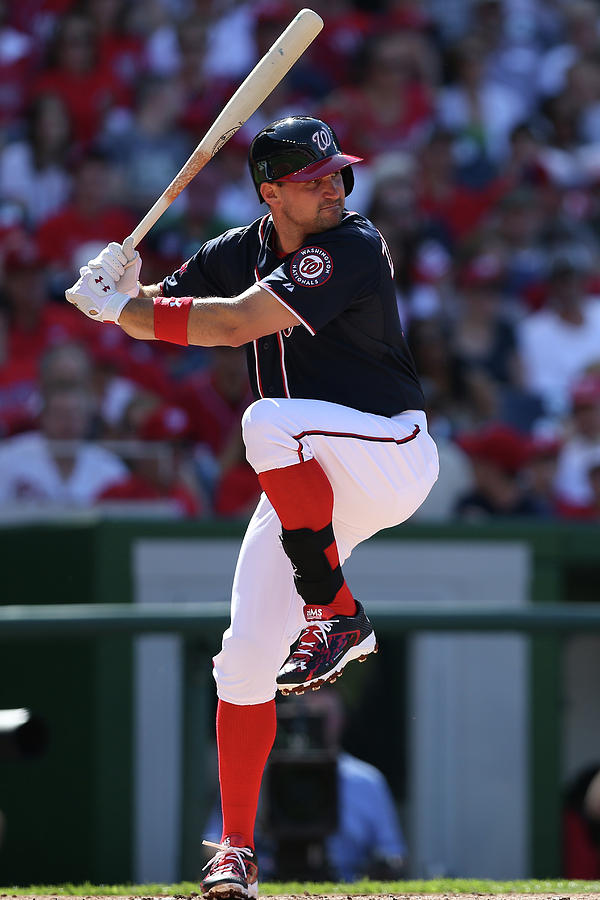 Ryan Zimmerman Photograph by Patrick Smith