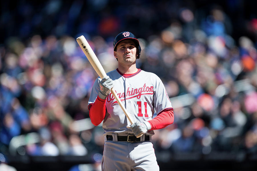 Ryan Zimmerman Photograph by Rob Tringali