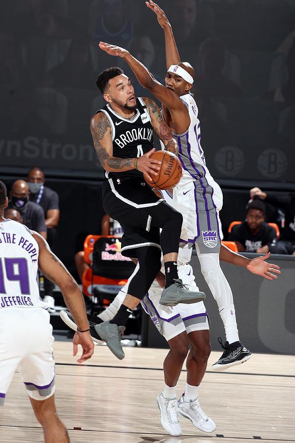 Sacramento Kings v Brooklyn Nets Photograph by David Sherman