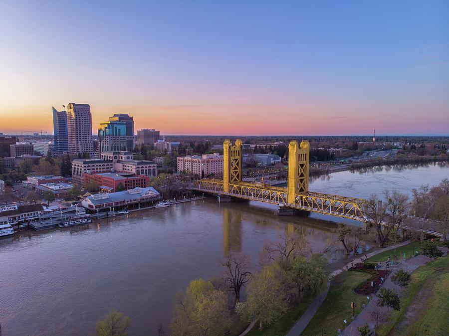 Sacramento Photograph - Sacramento River by Jonathan Hansen