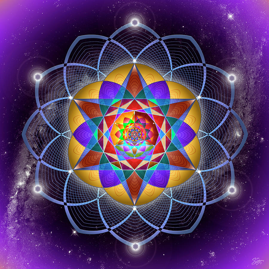 Sacred Geometry 785 by Endre Balogh
