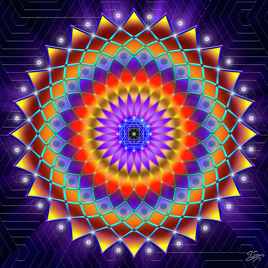 Sacred Geometry 788 by Endre Balogh