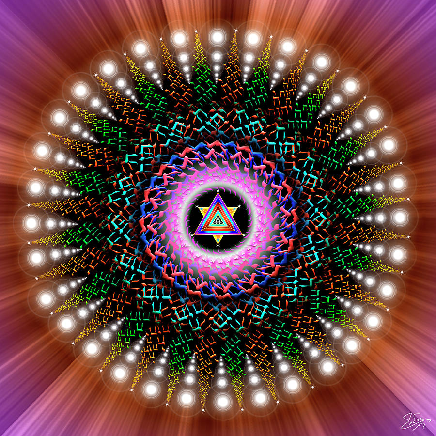 Sacred Geometry 789 by Endre Balogh