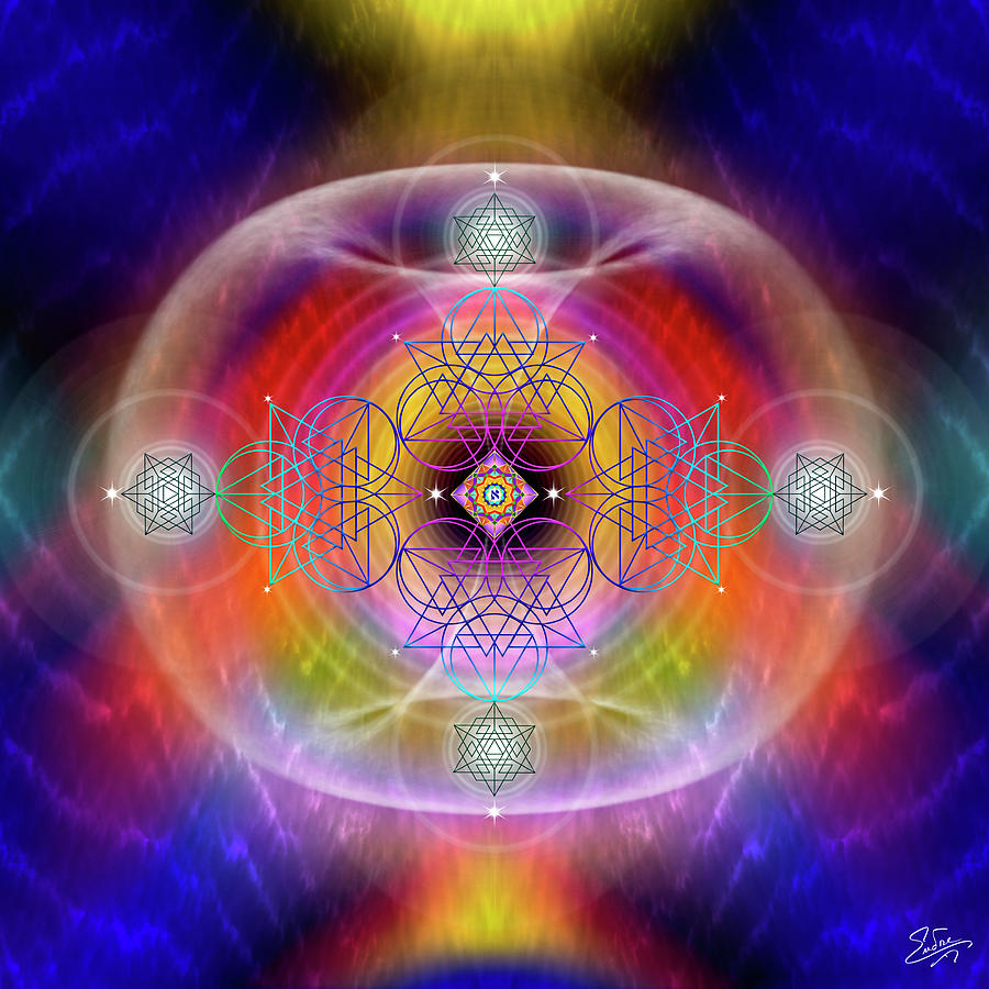 Sacred Geometry 792 by Endre Balogh