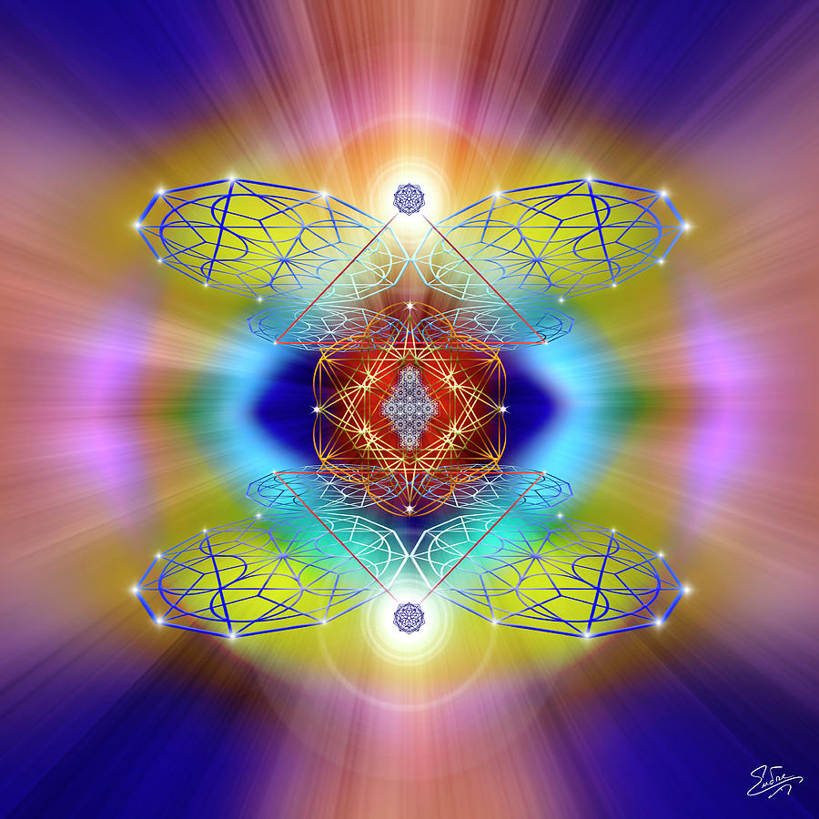 Sacred Geometry 793 by Endre Balogh