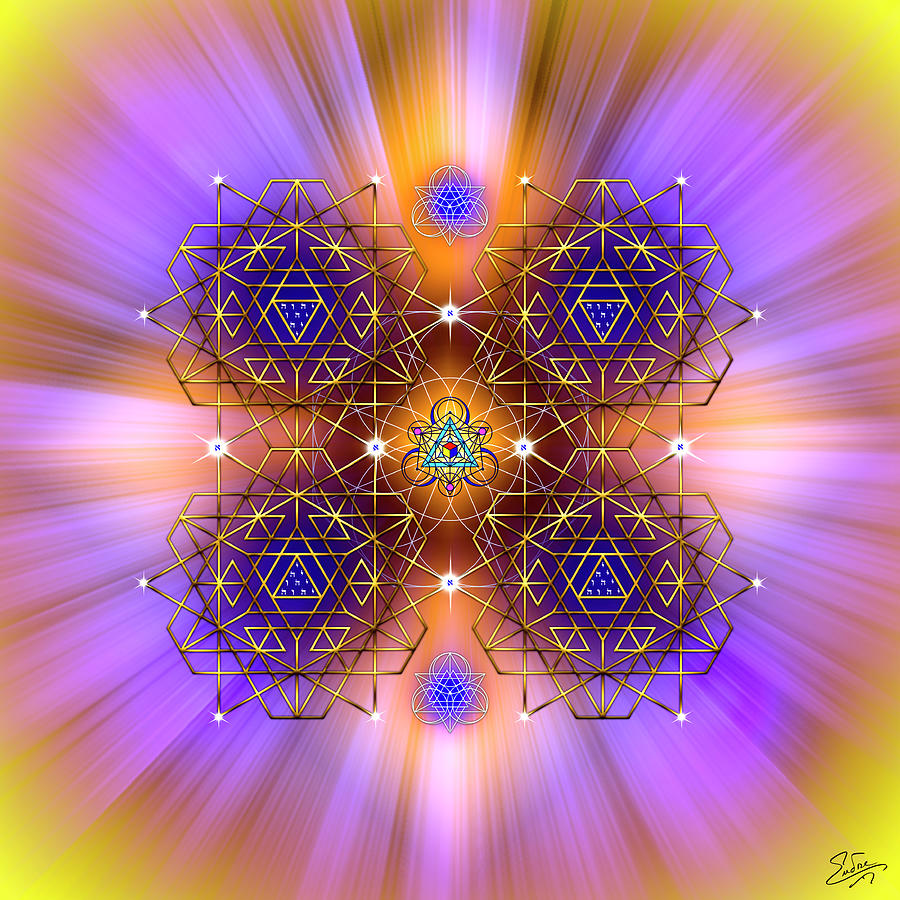 Sacred Geometry 797 by Endre Balogh
