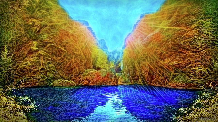 Sacred Pond Peace by Joel Bruce Wallach
