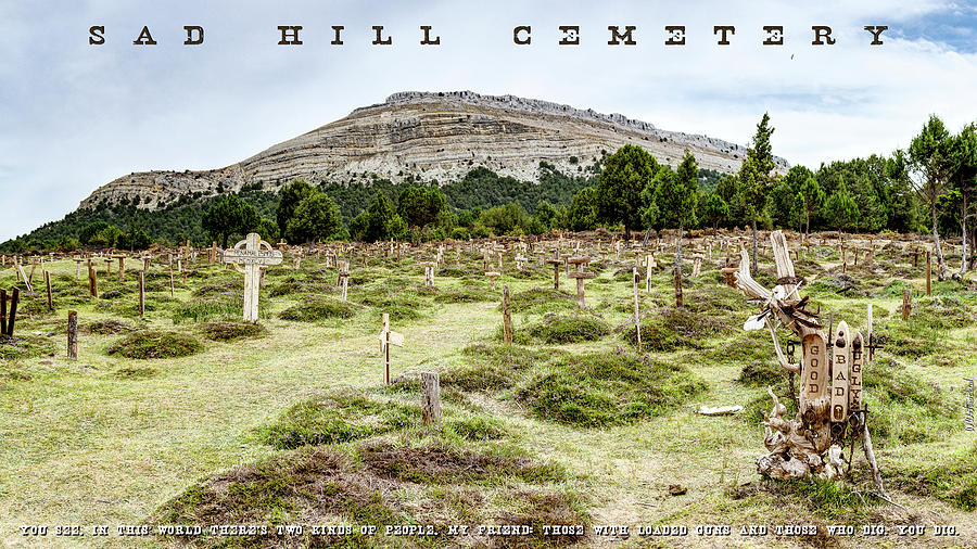 Sad Hill Cemetery Panorama by Weston Westmoreland