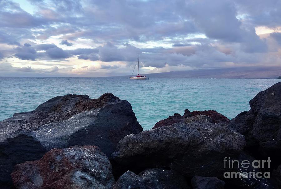 Sail Away Sunset Photograph