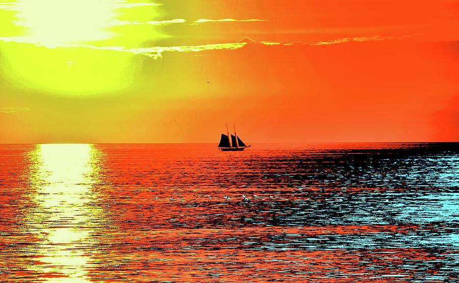 Sail Digital Art