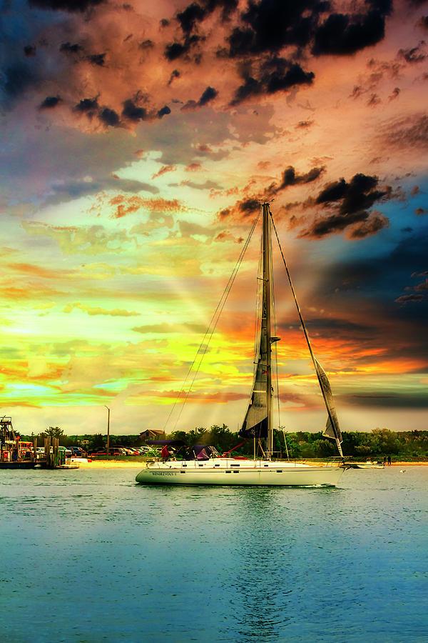 Sailboat 7358 by Carlos Diaz