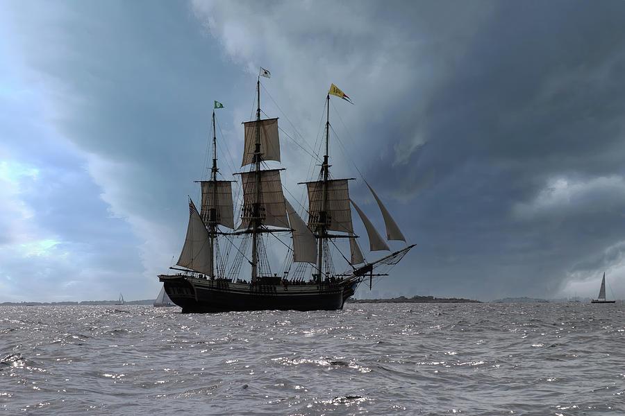 Sailing Back To Salem Photograph