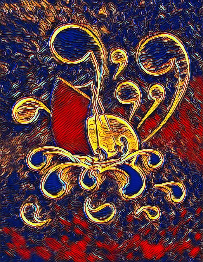 Sailing By Moonlight Digital Art