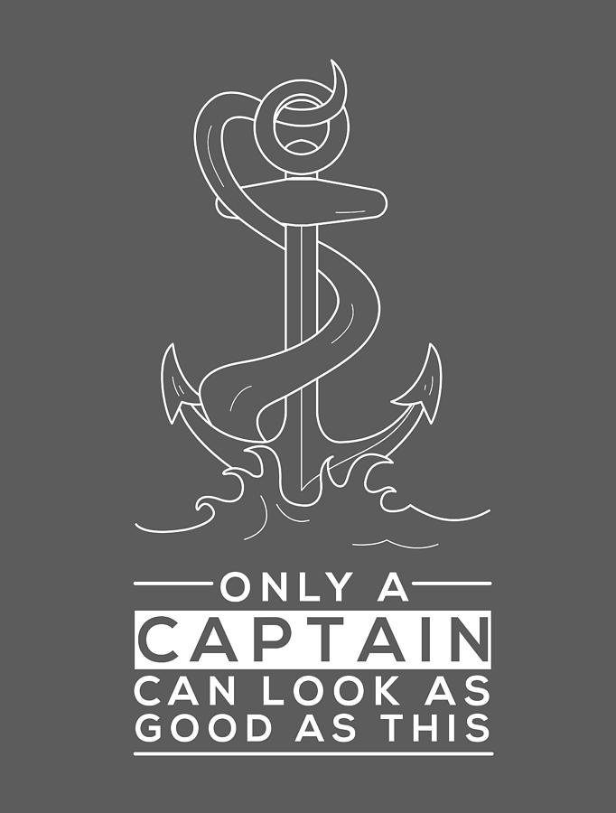 Sailor For Men Women Sailing Boat Captain Boatman Yachtsman Digital Art By Crazy Squirrel