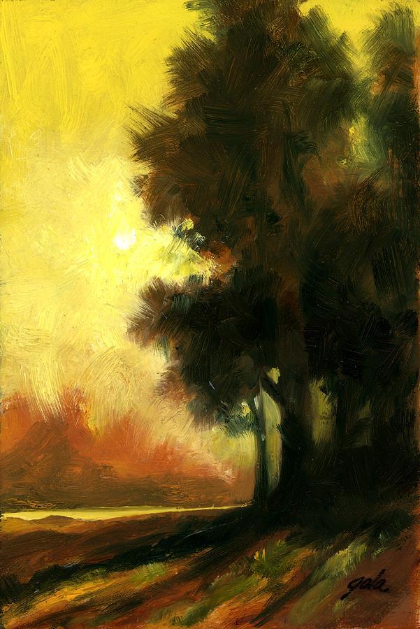 Landscape Painting - Sailors Delight by Jim Gola
