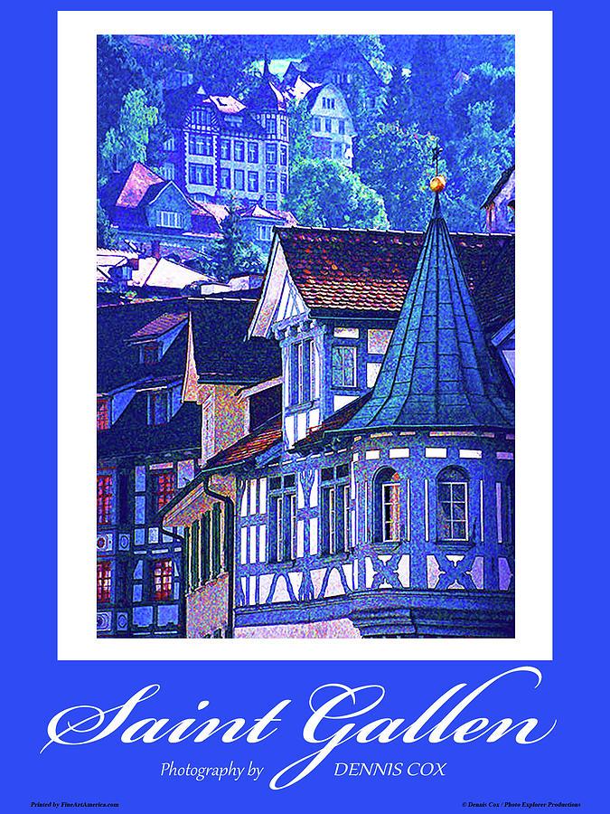 Saint Gallen Poster Photograph