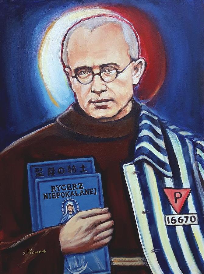Saint Maximilian Kolbe, Version I Painting