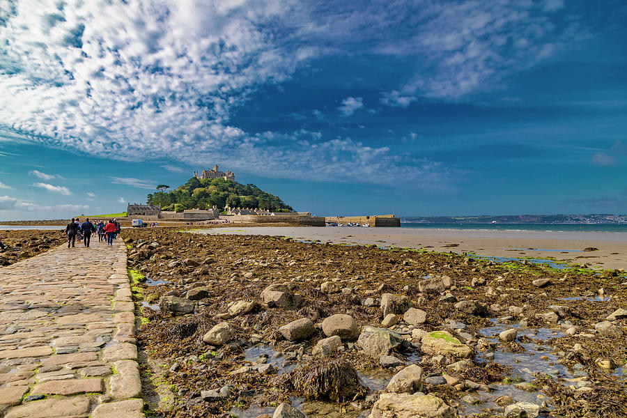Saint Michaels Mount Cornwall Photograph