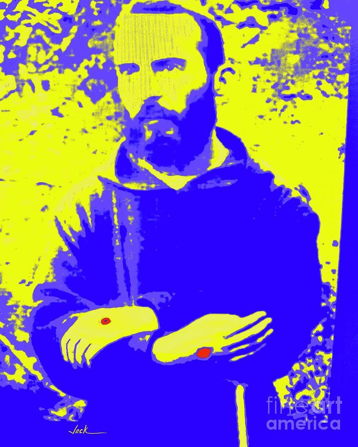 Padre Pio Painting - Saint Pio by Jack Bunds