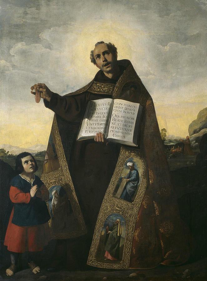 Saint Romanus of Antioch and Saint Barulas by Francisco de Zurbaran