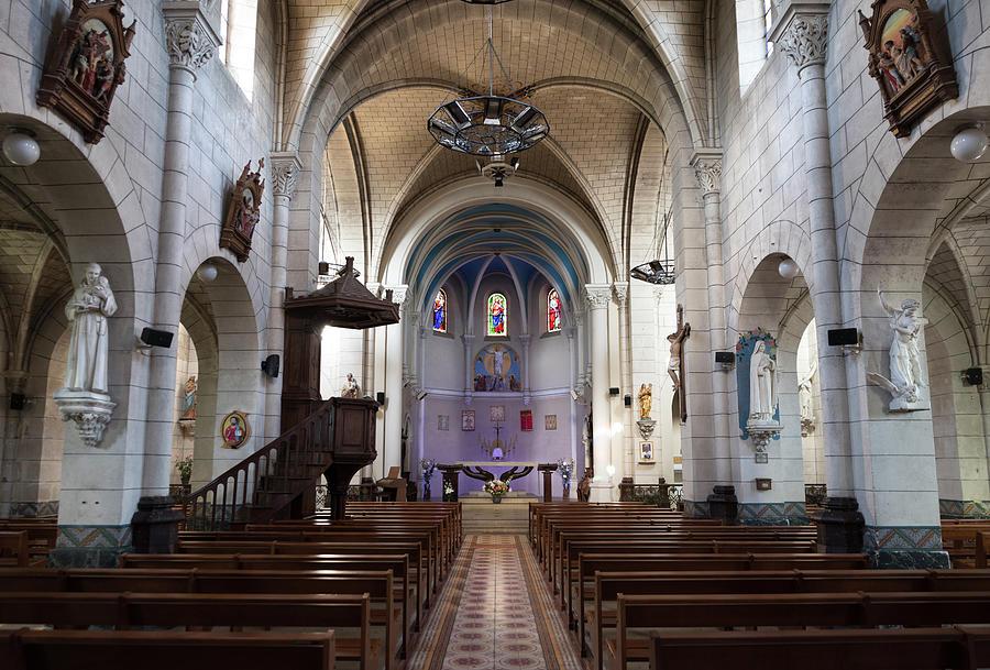 Saint-Sauveur Church in Sanguinet by RicardMN Photography