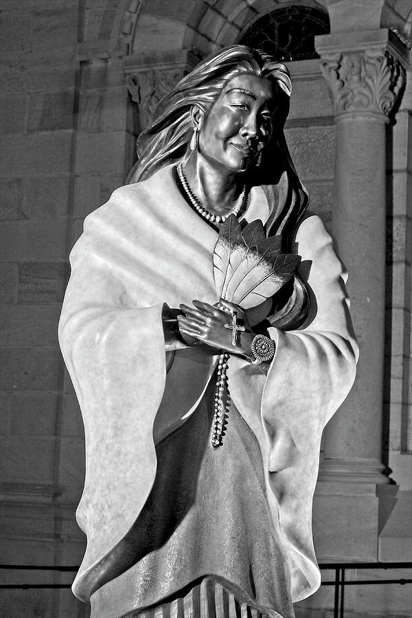 Saint Tekakwitha by John Bates