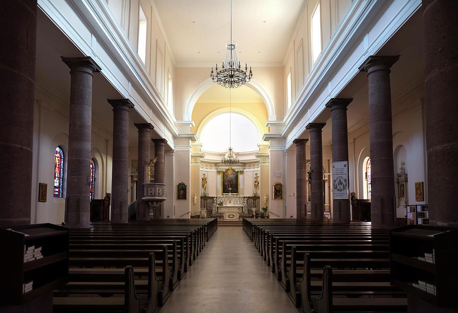 Sainte-Anne church in Turckheim, nave by RicardMN Photography