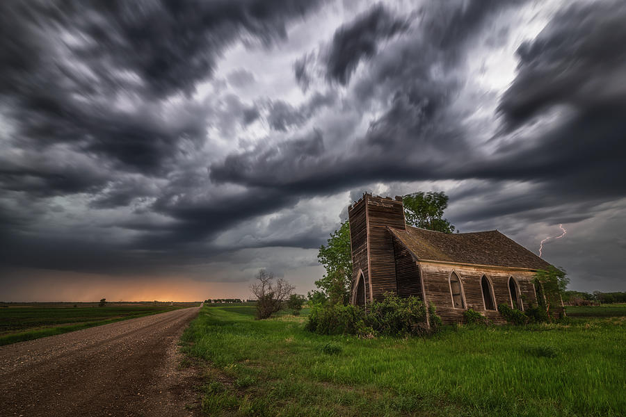 Storm Photograph - Saints and Sinners by Darren White