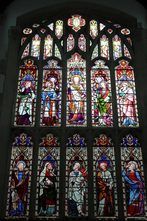Saints In A Window Photograph