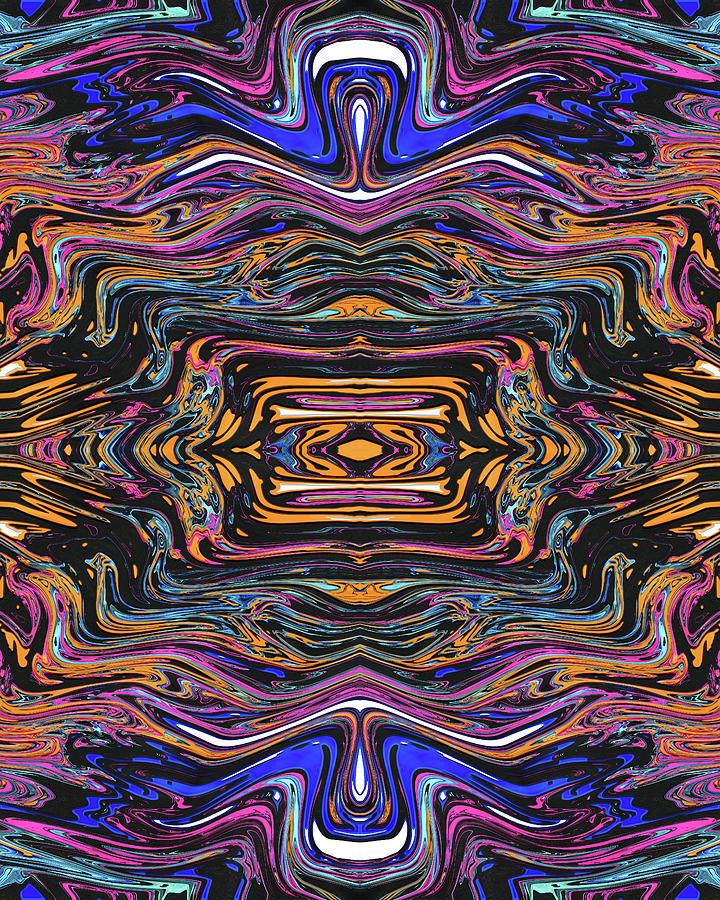 Salamander Chest Digital Art by Jack Entropy