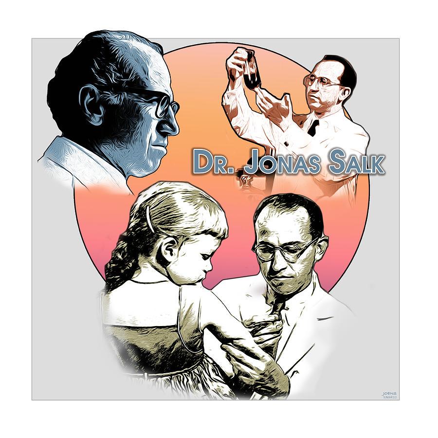 Jonas Salk Digital Art - Salk by Greg Joens