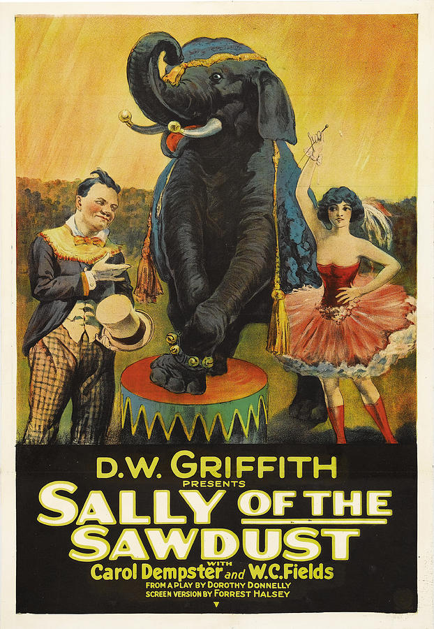 sally Of The Sawdust - 1925 Mixed Media