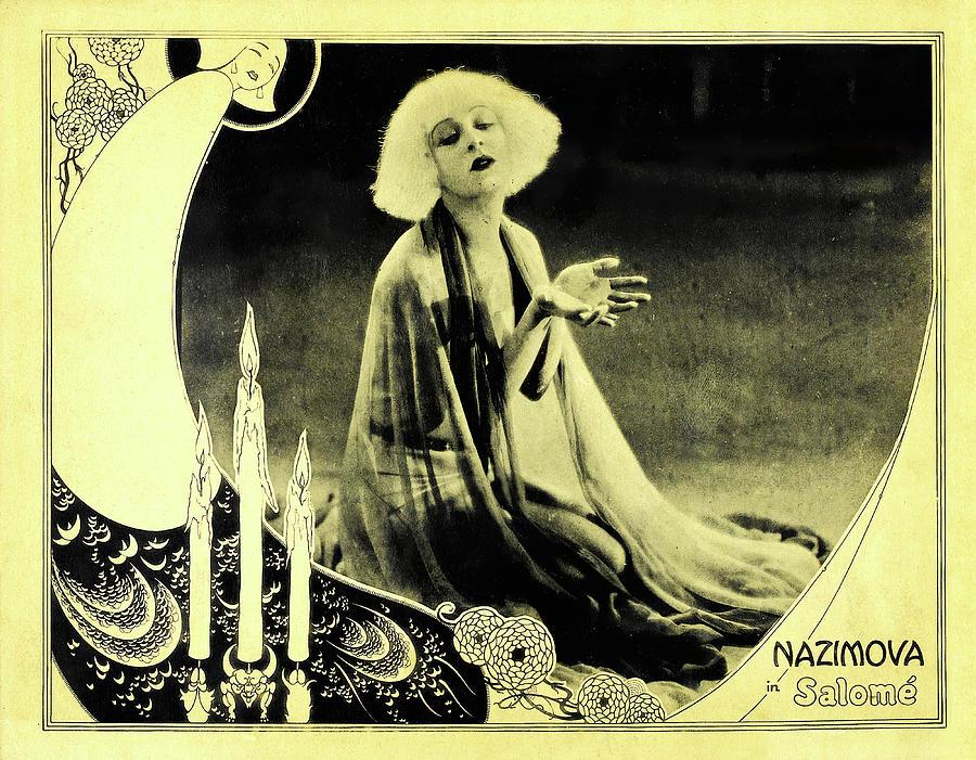 salome With Nazimova, 1923 Mixed Media