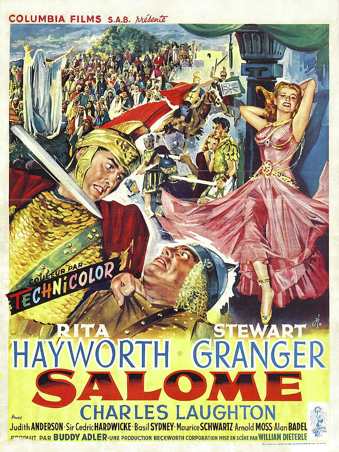 salome With Rita Hayworth, 1953 Mixed Media