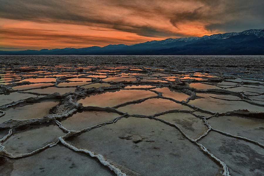 Salt Flats of Death Valley by Jon Glaser
