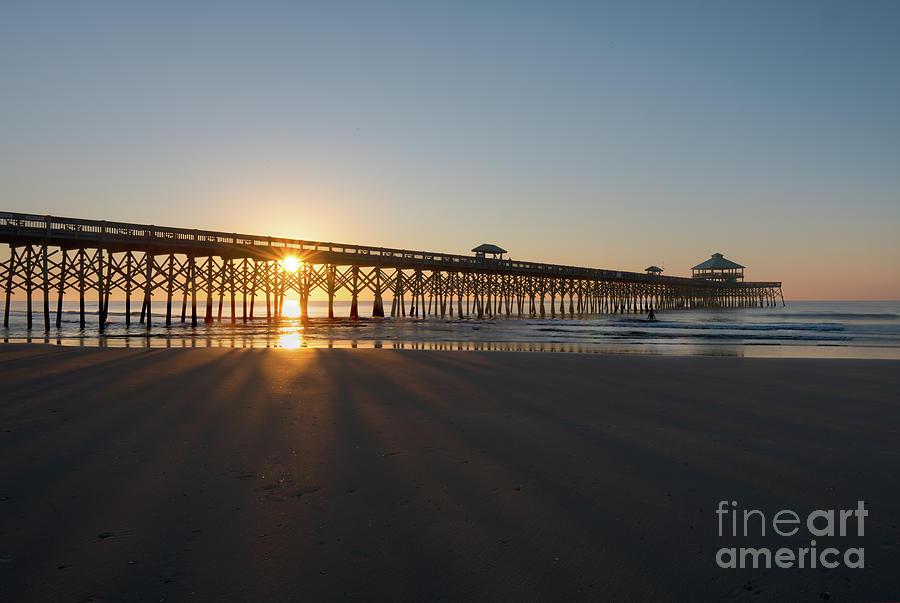 Salt Life - Folly Beach Pier Photograph