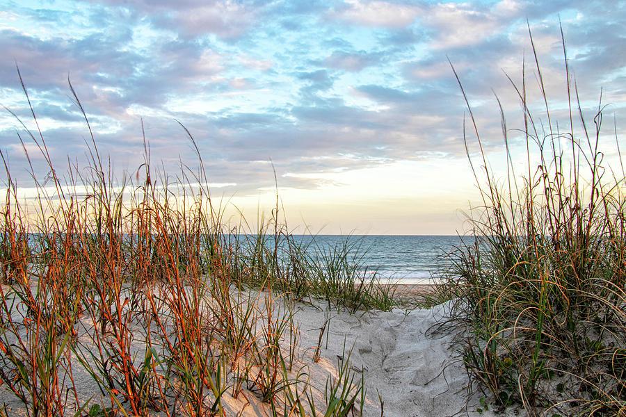 Salter Path Beach Sunset - Bogue Banks North Carolina Photograph