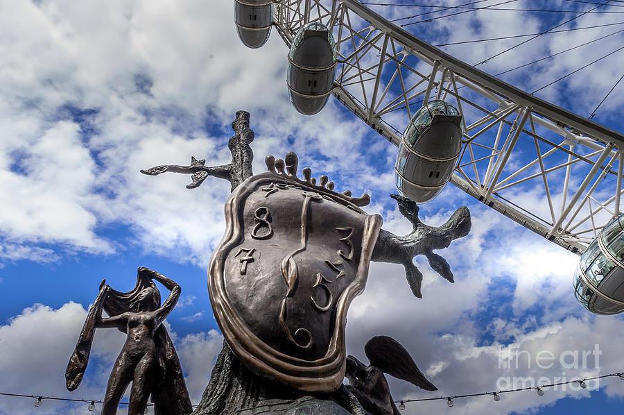 Salvador Dali Sculpture 3 Photograph