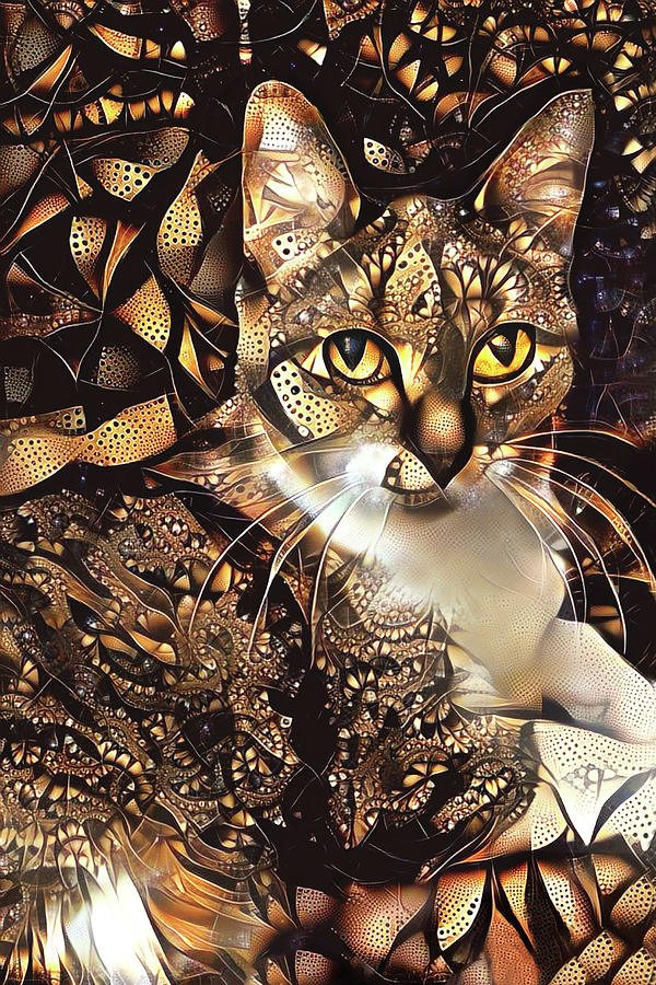 Samantha the Tabby Cat by Peggy Collins
