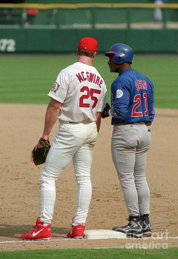 Sammy Sosa and Mark Mcgwire Photograph by Icon Sports Wire
